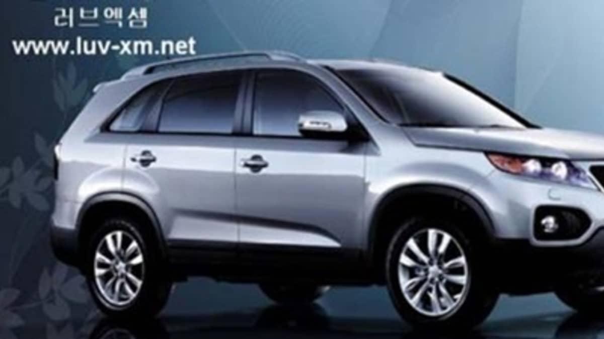 2010 Kia Sorento XM: A New, Official Photo Surfaces Online
