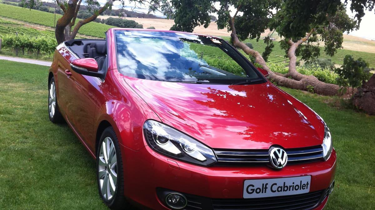 2012 Volkswagen Golf Cabriolet 118TSI DSG Review