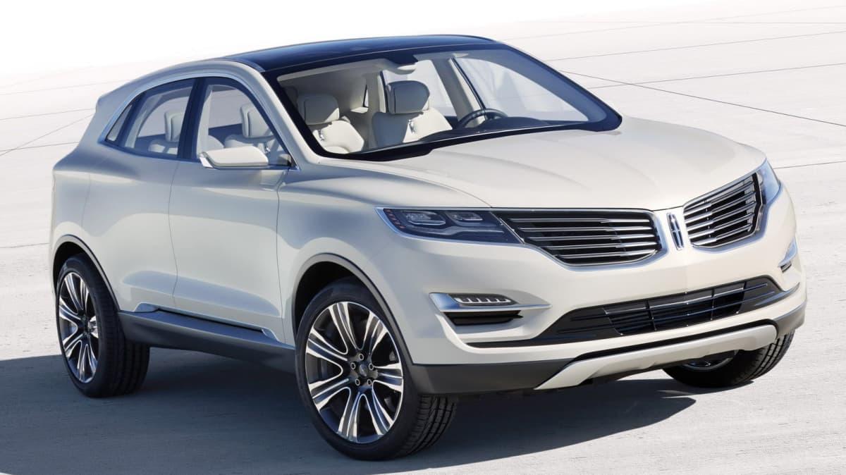 Lincoln MKC SUV Concept Unveiled At Detroit Auto Show