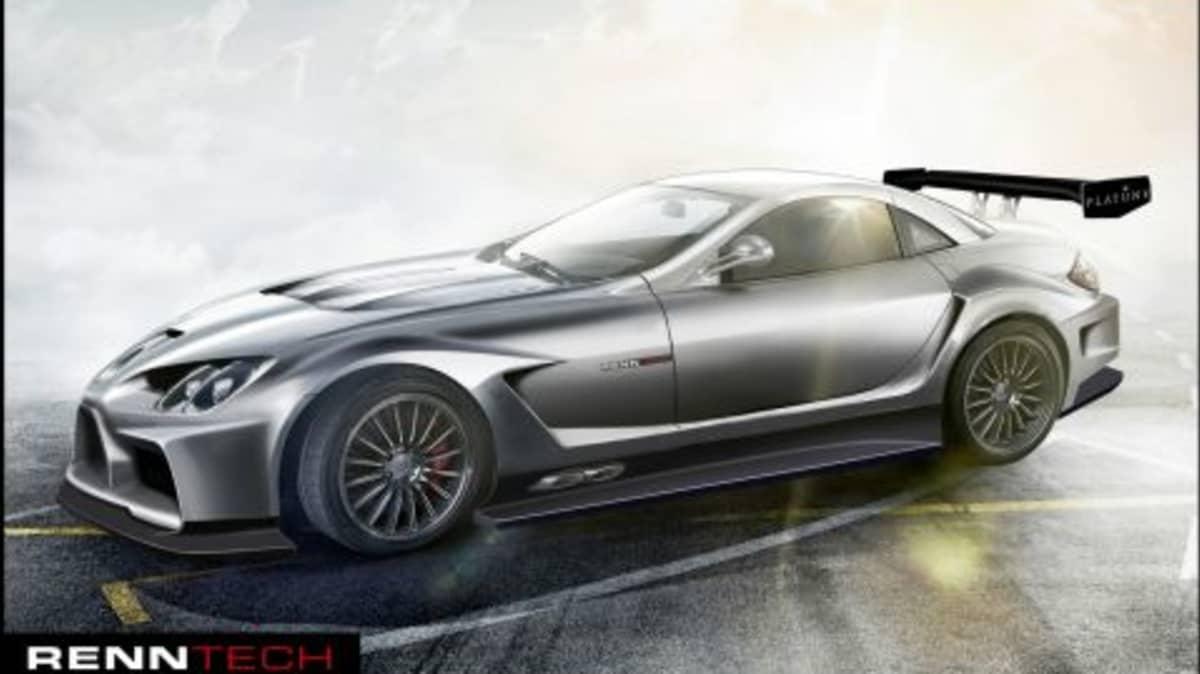 Renntech Tweaks SLR, Develops 777hp Behemoth