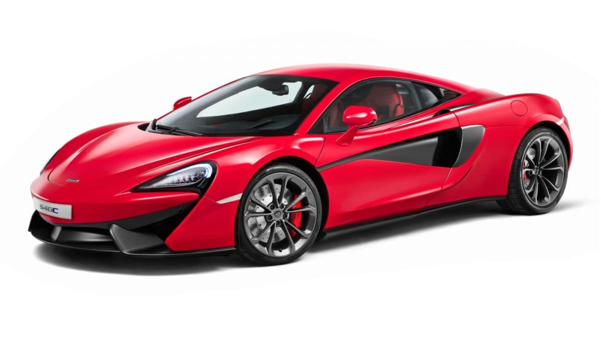 McLaren 540C Revealed As New Entry Model In Shanghai
