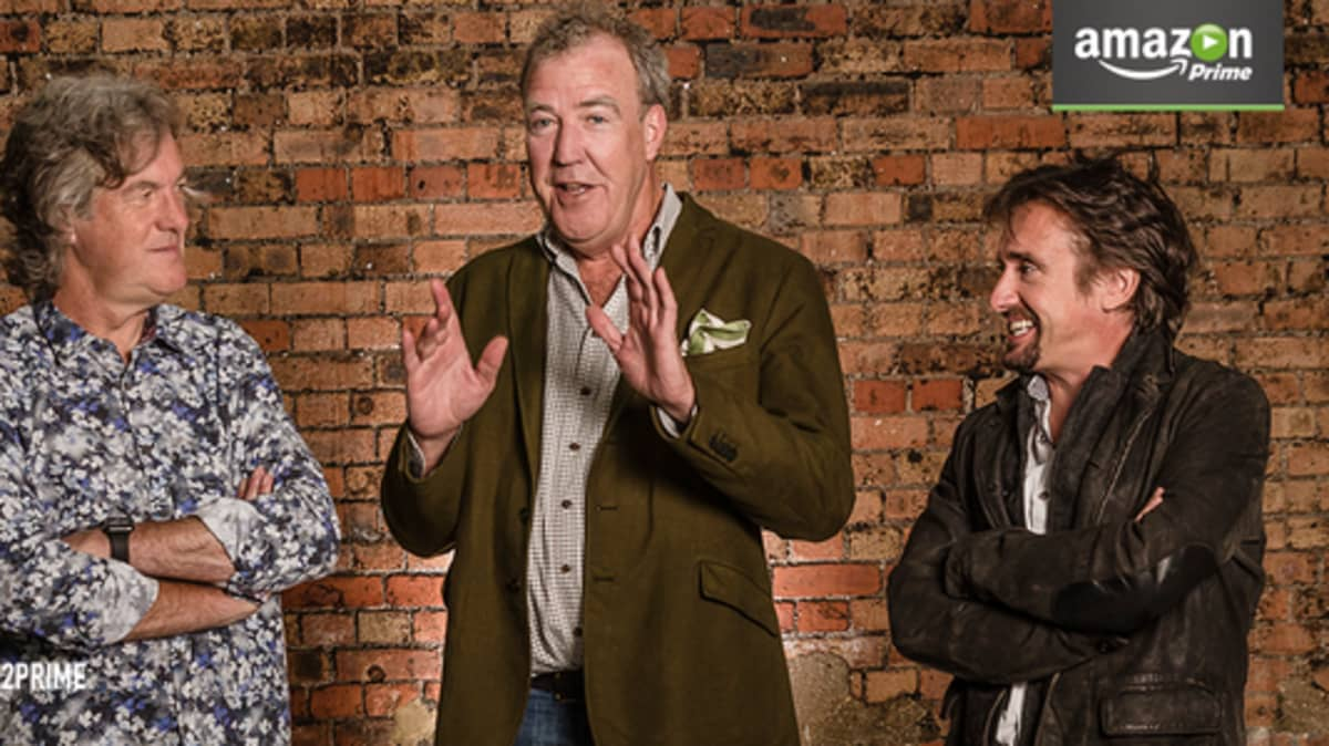 Clarkson, May, and Hammond Signed For New Amazon Motoring Show