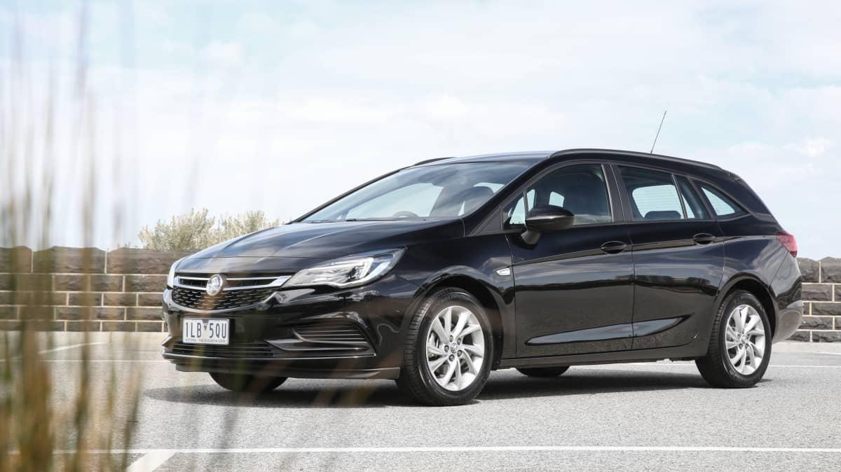2017 Holden Astra Sportwagon.