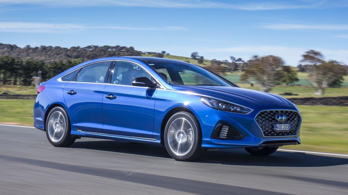 Hyundai's Sonata is a compelling medium-sized sedan.