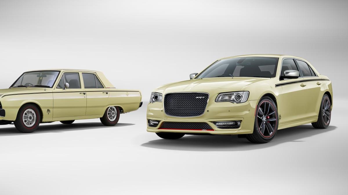 Valiant Pacer badge returns to Australian showrooms on limited edition Chrysler 300 SRT performance sedans