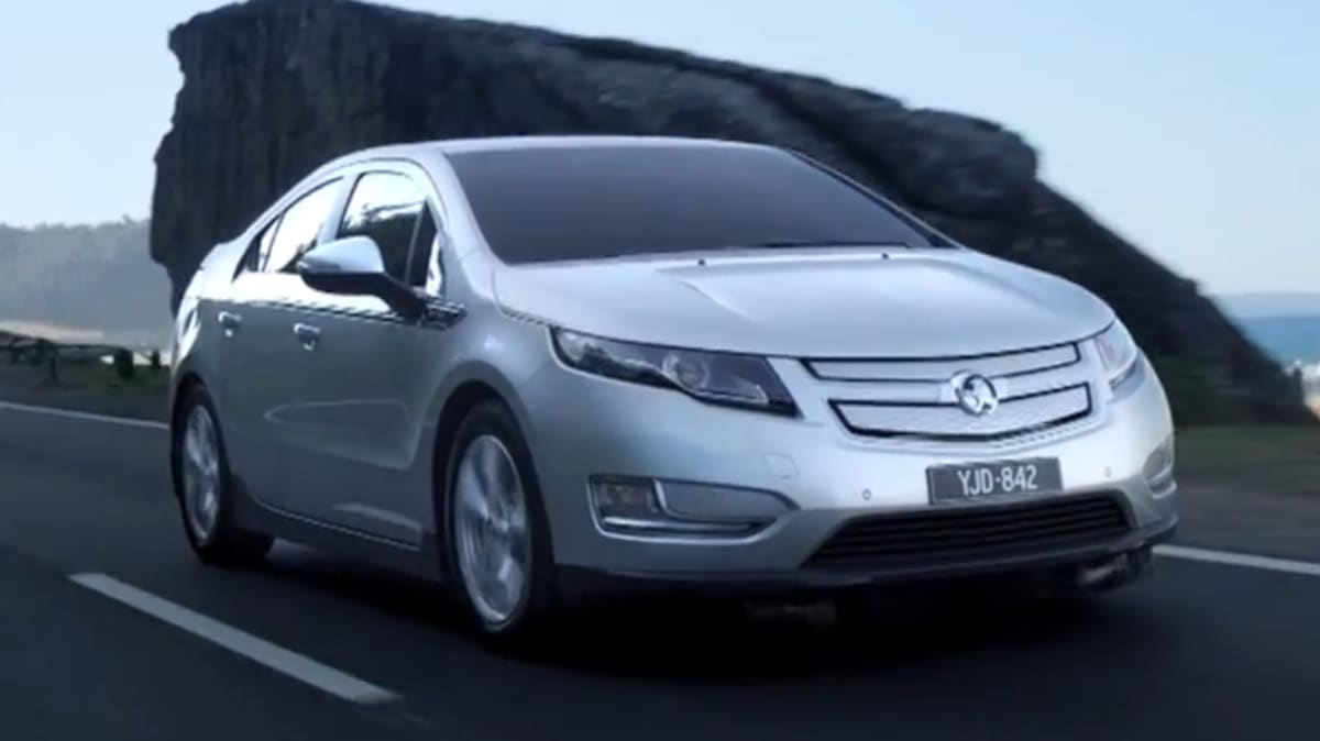 Holden Partners With Better Place For Volt EV Charging Service