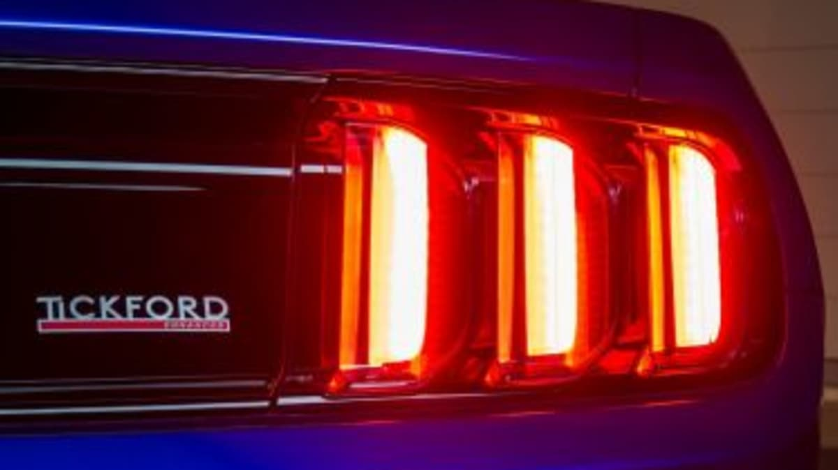 Tickford Ford Mustangs 2017 Ford Tickford Mustang.
