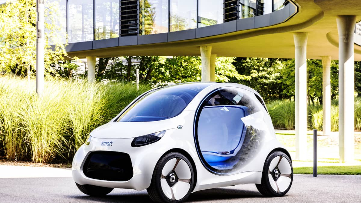 Smart Vision EQ Concept Could Be The Future Of Urban Mobility