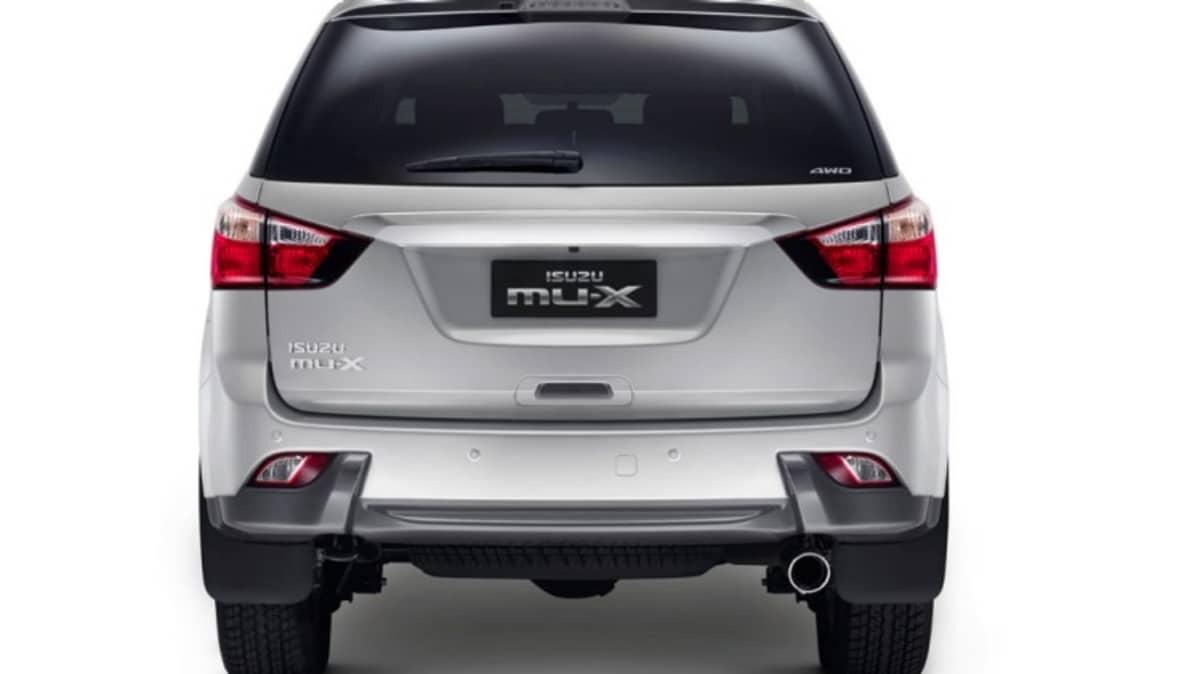 Isuzu MU-X seven-seat SUV.