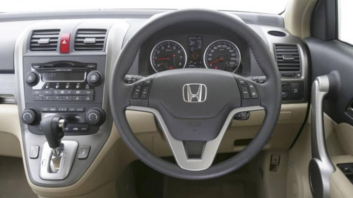 Honda CR-V Luxury: interior
