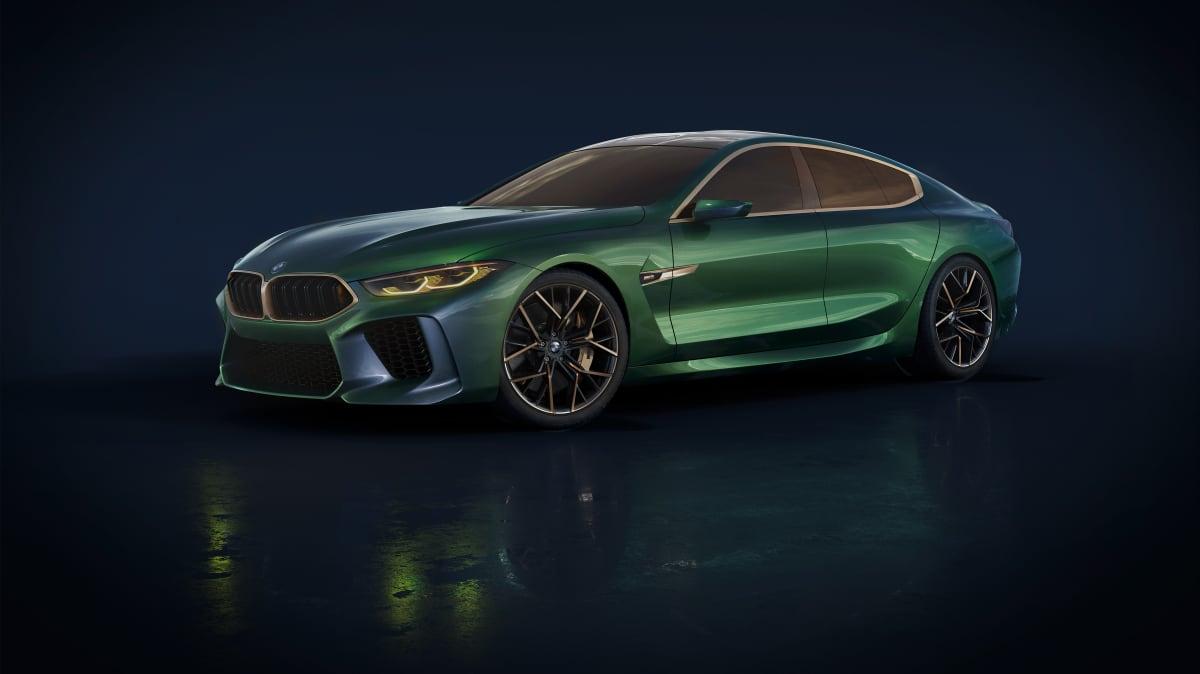 BMW M8 Concept.