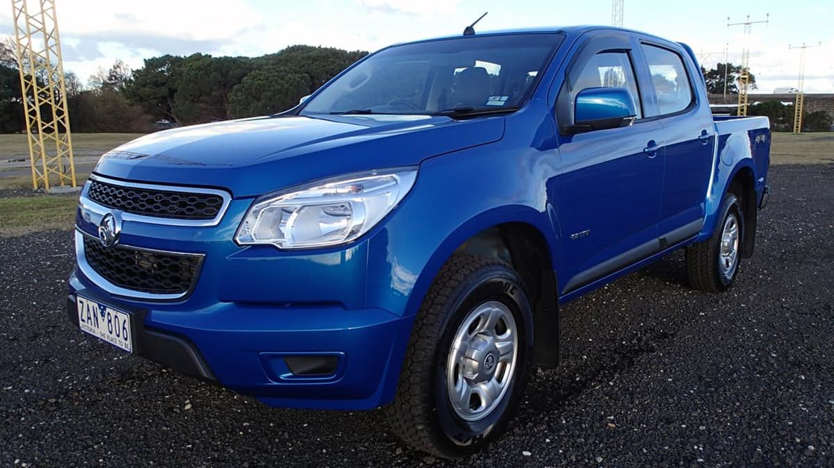2012 Holden Colorado LX Automatic 4x4 Crew Cab Review