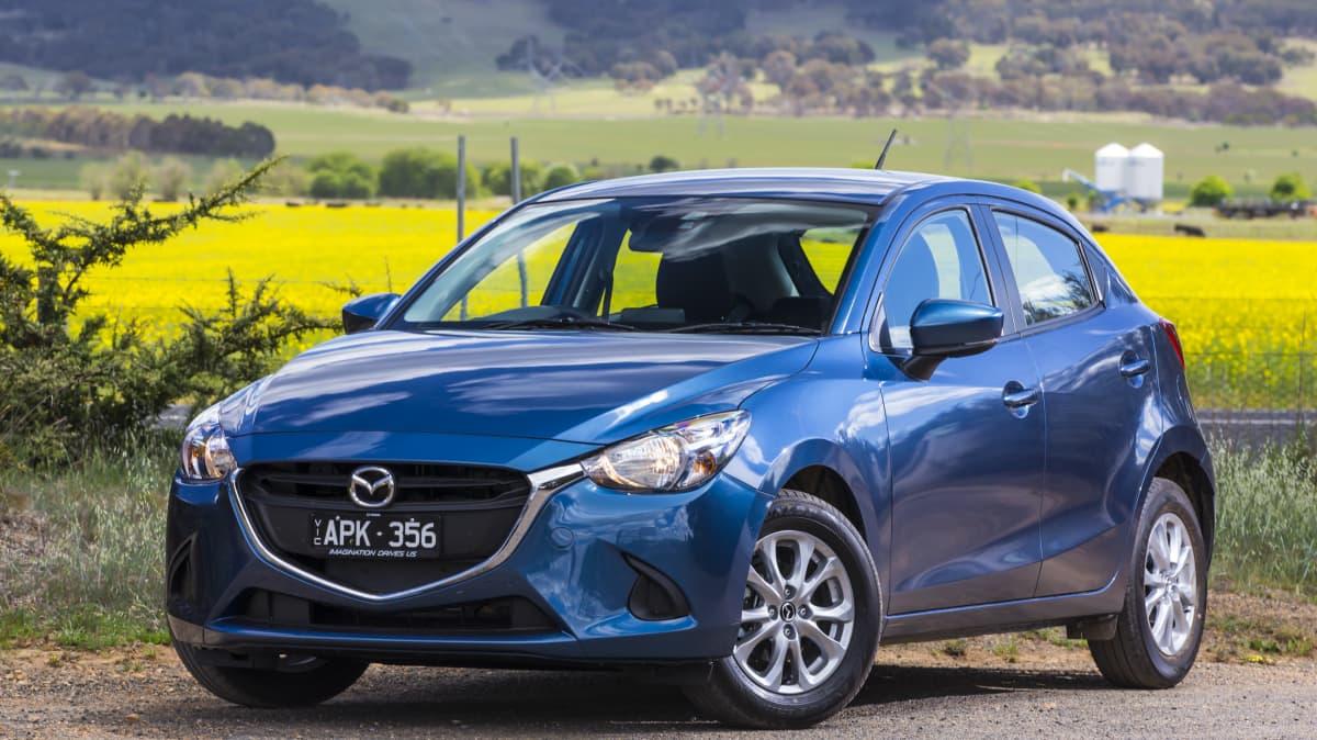 Drive 2017 Best City Car Mazda2 Maxx front exterior