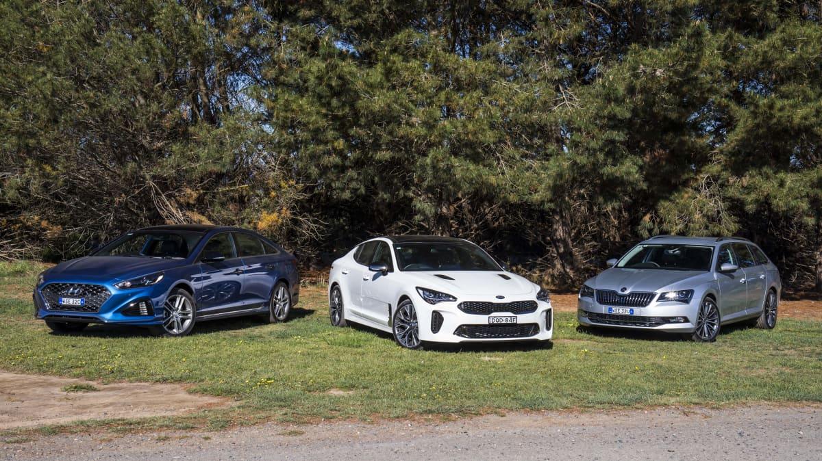 Drive 2017 Best Family Car group shot