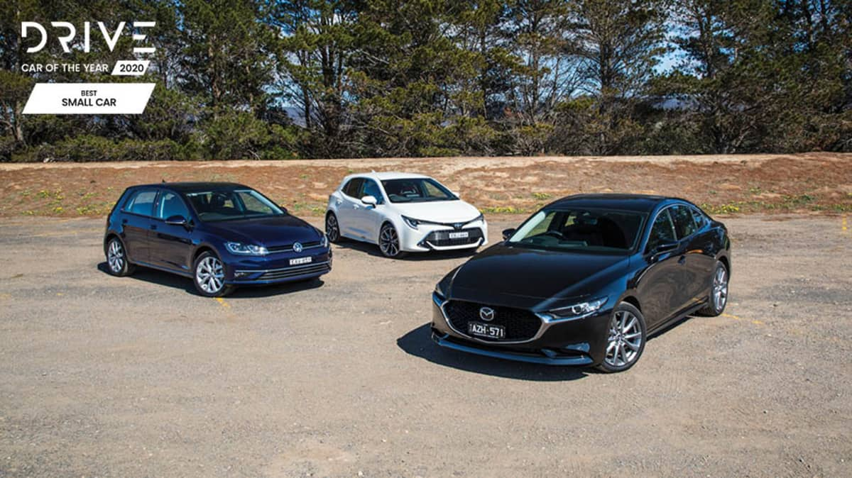 Drive Best Small Car 2020 finalists group photo