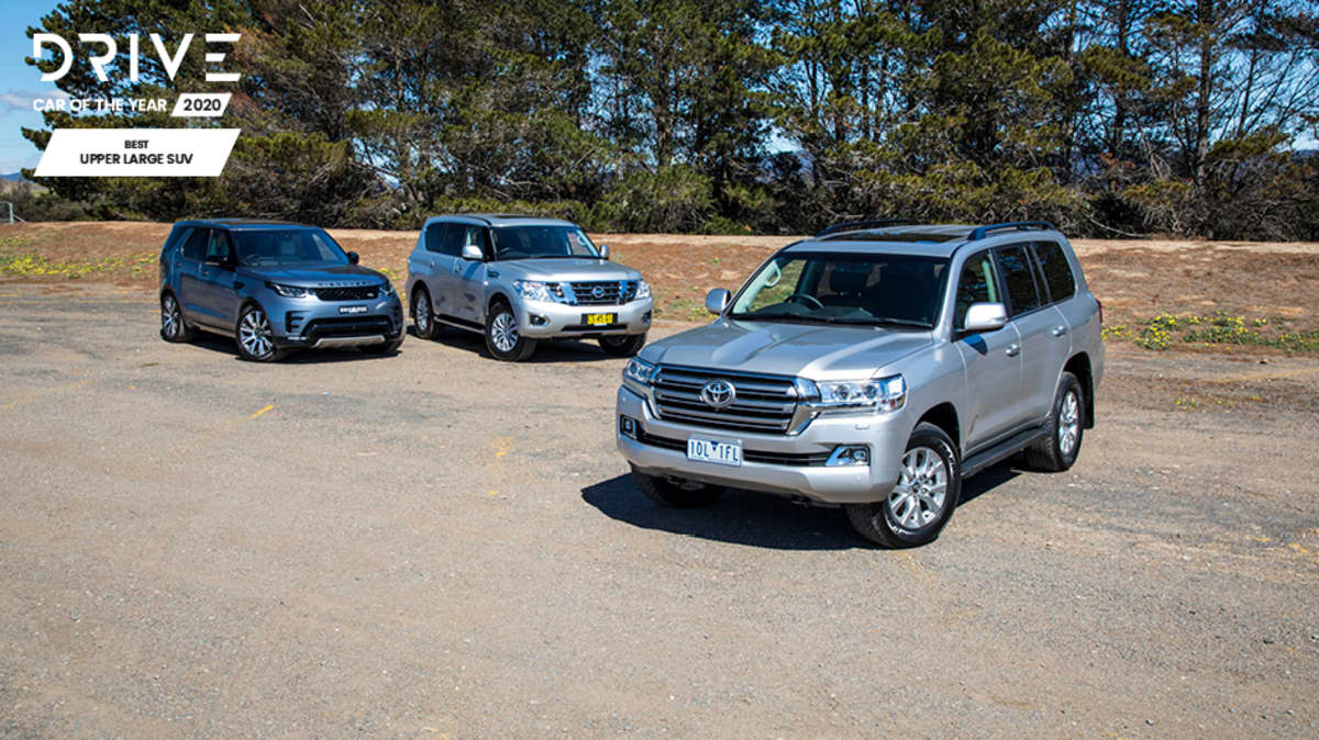 Drive Best Upper Large SUV 2020 finalists group photo