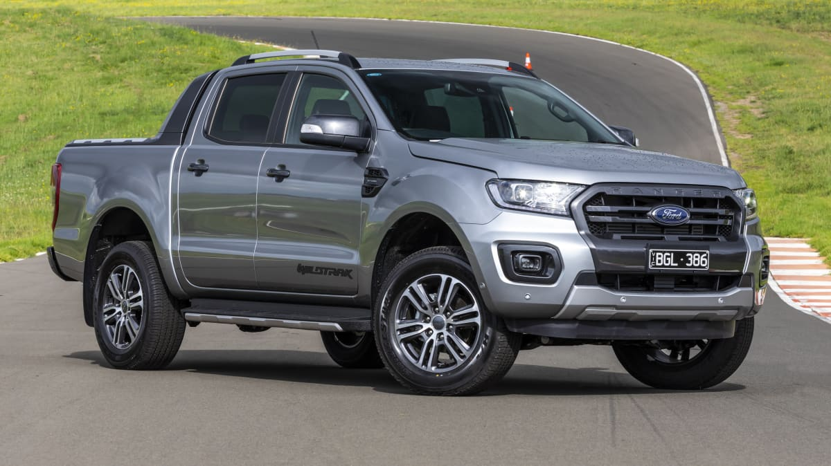 Drive Car of the Year Best Dual Cab Ute 2021 finalist Ford Ranger front exterior view