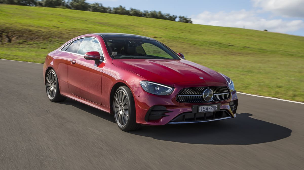 Drive Car of the Year Best Large Luxury Car 2021 finalist Mercedes Benz E-Class exterior front view