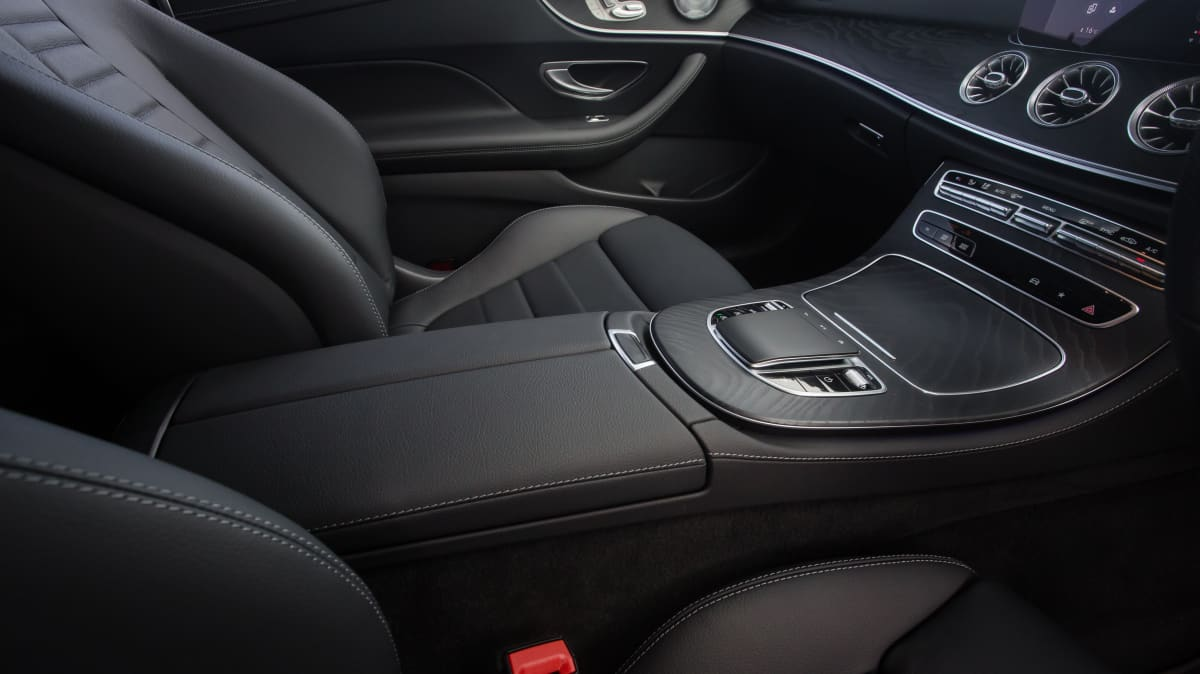 Drive Car of the Year Best Large Luxury Car 2021 finalist Mercedes Benz E-Class interior front seats