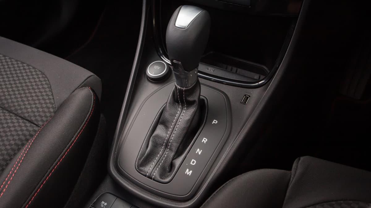 Drive Car of the Year Best Light SUV 2021 finalist Ford Puma interior gear stick