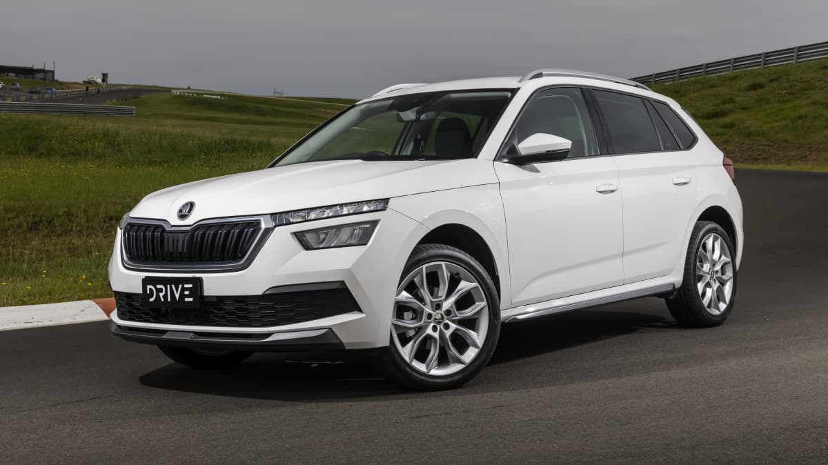 Drive Car of the Year Best Small SUV 2021 finalist Skoda Kamiq front exterior view