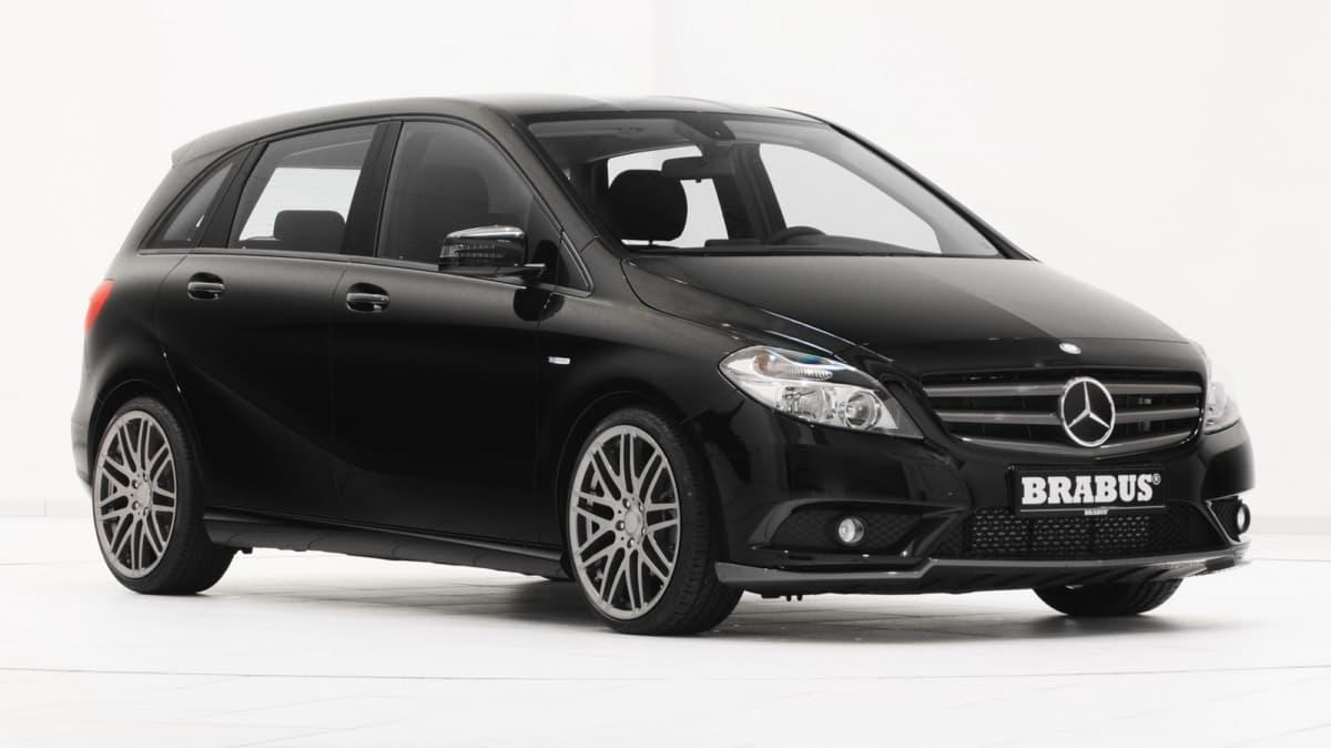 Brabus Tweaks The 2012 Mercedes-Benz B-Class