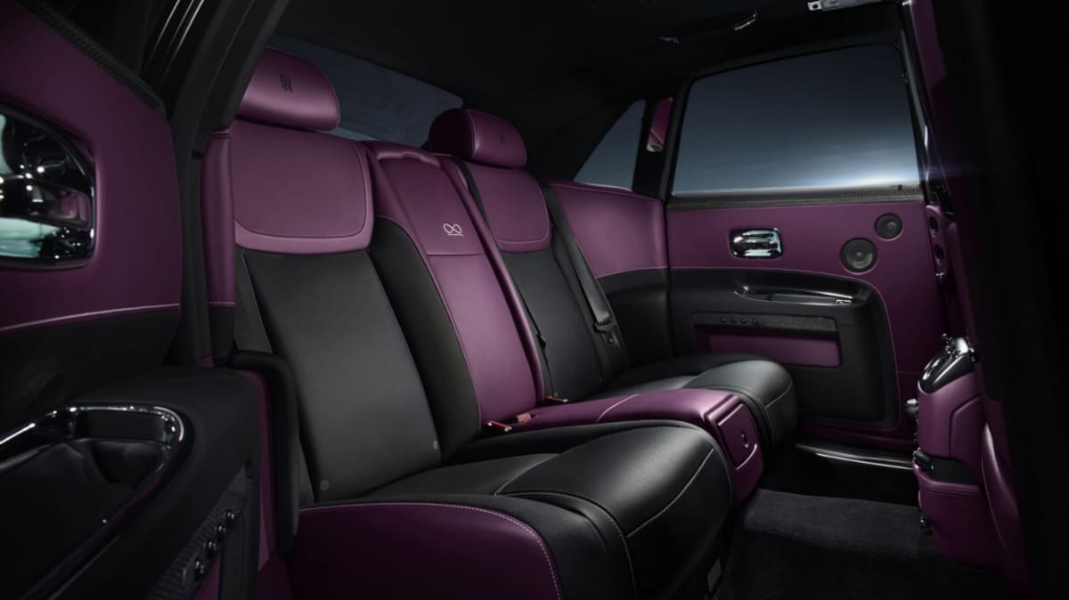 Rolls-Royce has added the new Black Badge series Ghost to its range to appeal to younger, edgier buyers.