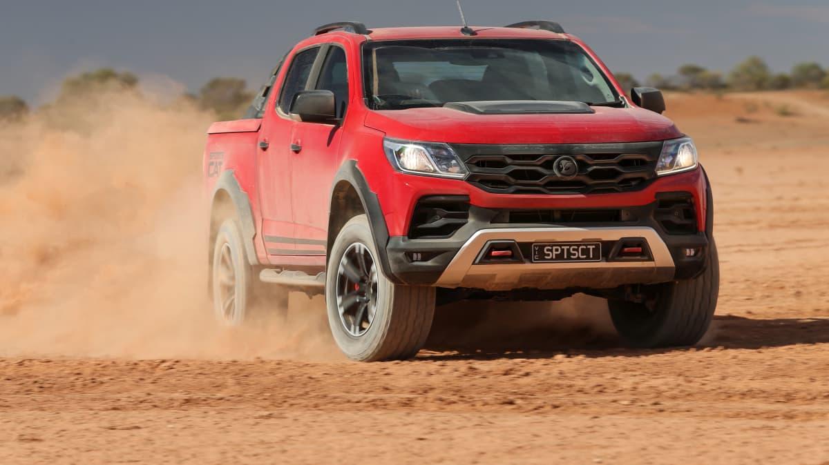 Outback Comparison Test - HSV SportsCat+