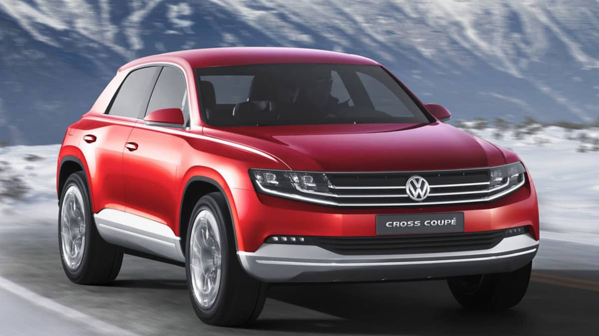 Volkswagen Cross Coupe Returns, Hybrid System Switches Petrol For Diesel