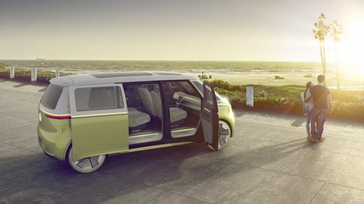 Volkswagen I.D. Buzz concept.