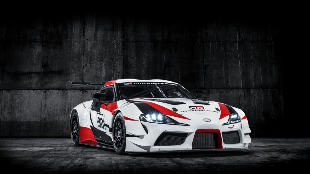 Toyota unveils Supra race car concept