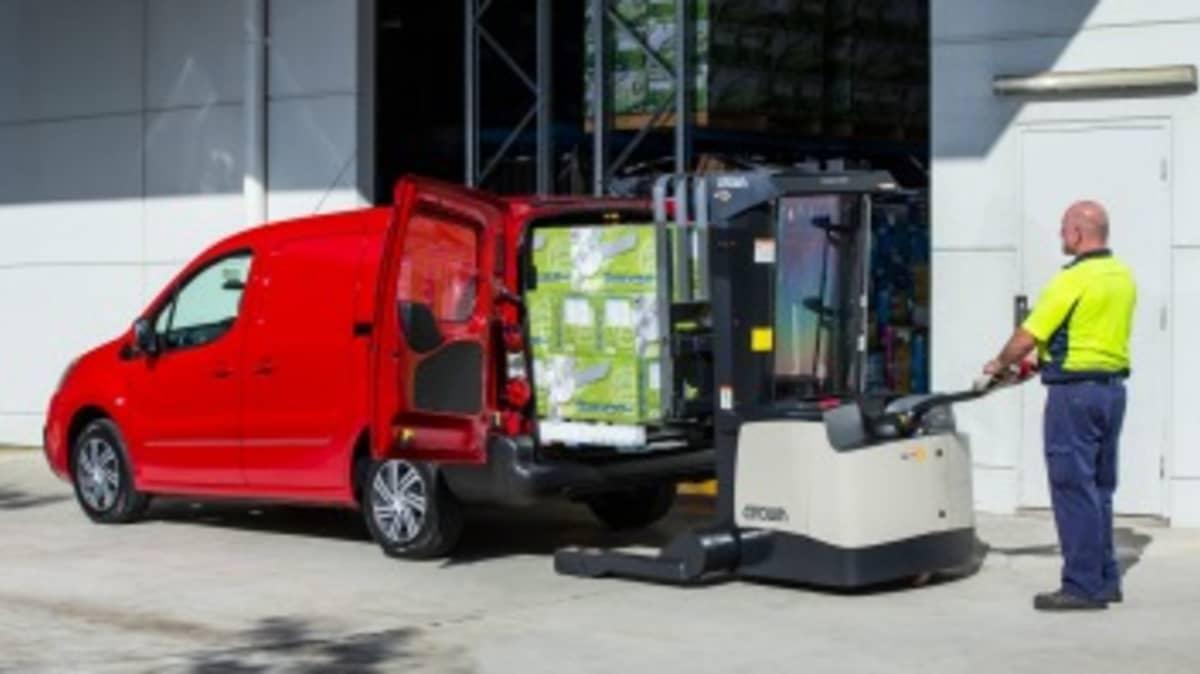 Citroen's Berlingo can handle up to 850 kilograms of cargo.