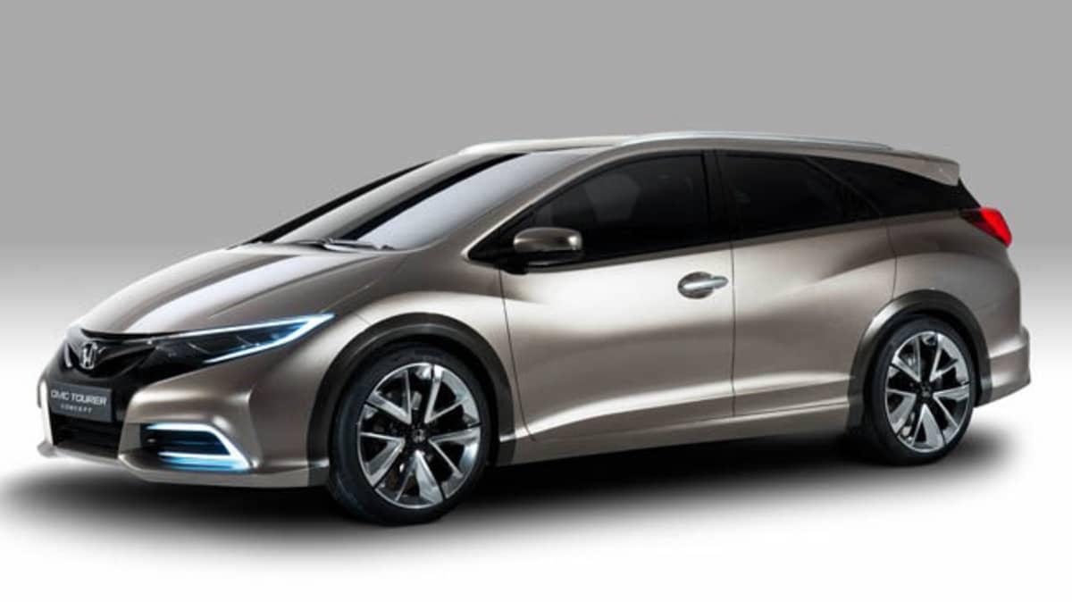 Honda Civic Tourer Wagon Concept Surfaces, Teases Production Model
