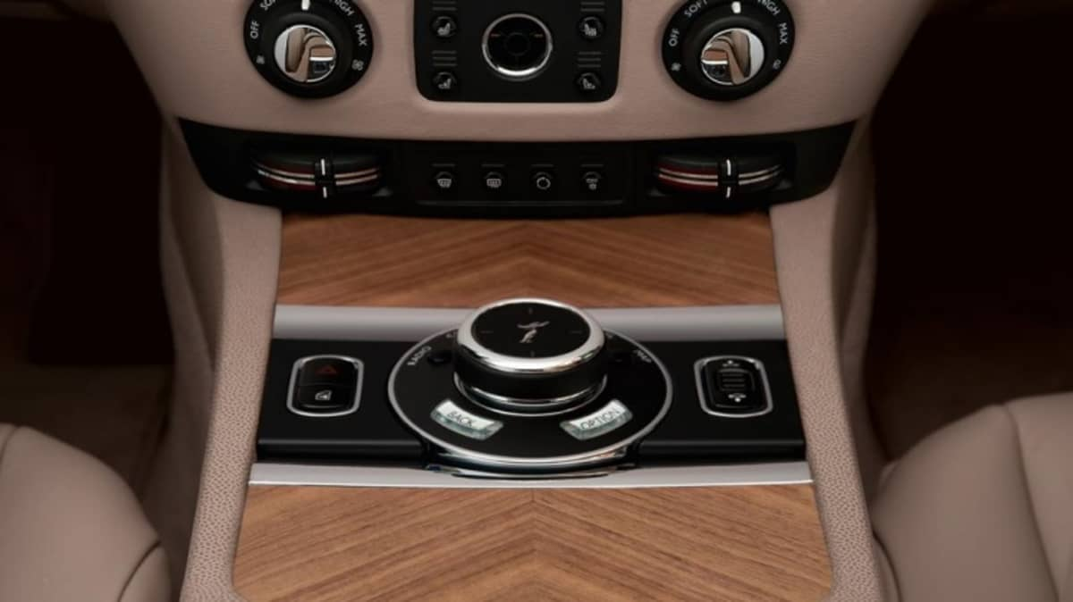 Rolls-Royce Wraith coupe.