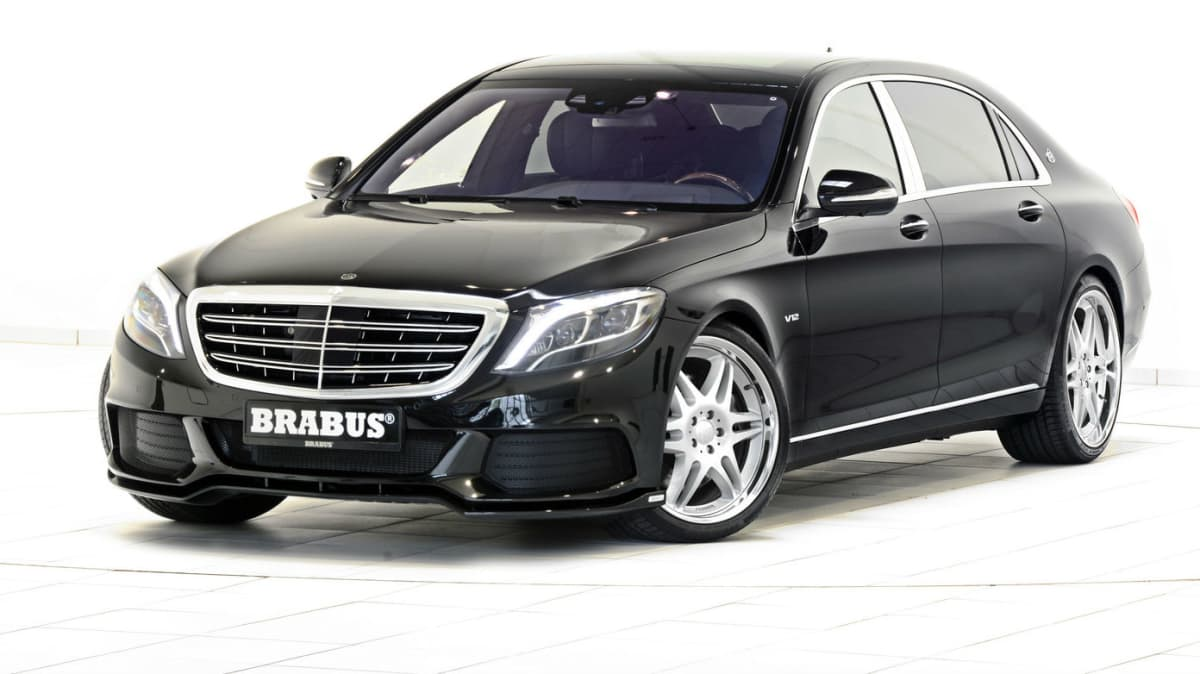 Brabus Details 662kW Mercedes-Maybach S 600