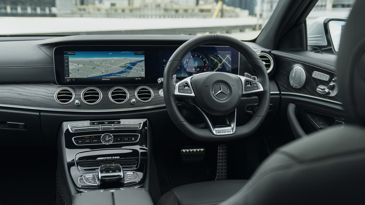 2018 Mercedes-AMG E63.