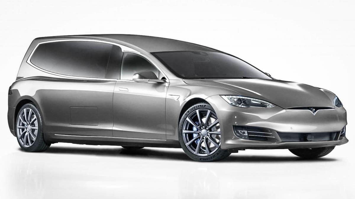 Tesla Model S hearse revealed: Go extra quietly
