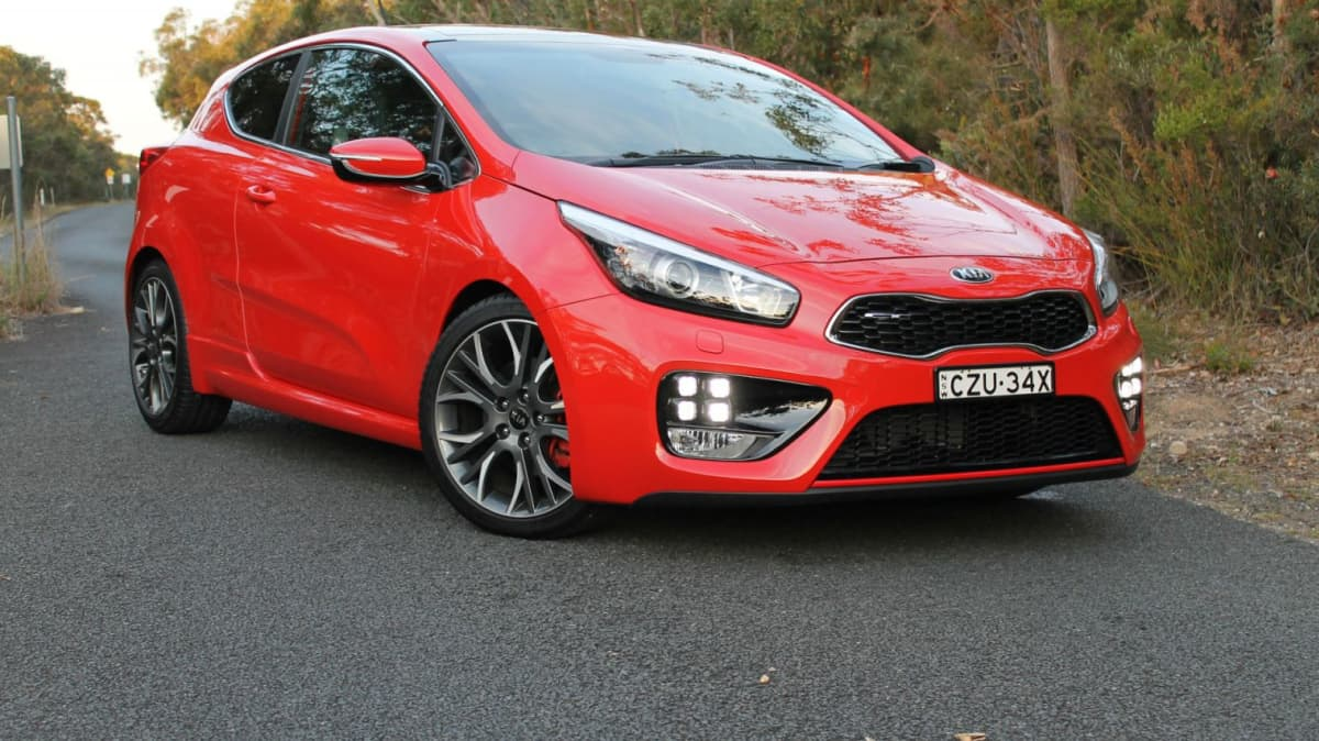 Kia pro_cee'd GT Cut From Kia Australia Line-Up