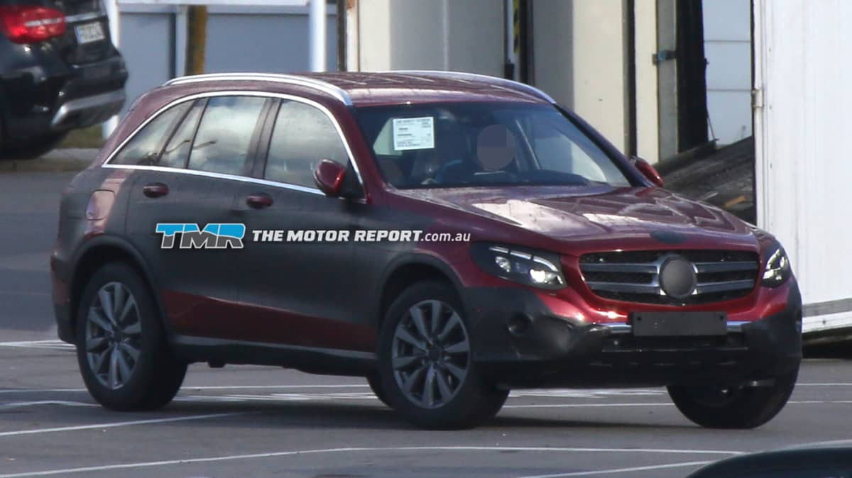 Mercedes GLC Spied Testing: GLK Replacement Coming
