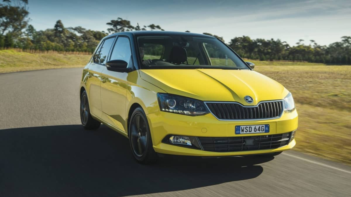 New Skoda Fabia is the first car in Australia to feature Apple's CarPlay infotainment system.