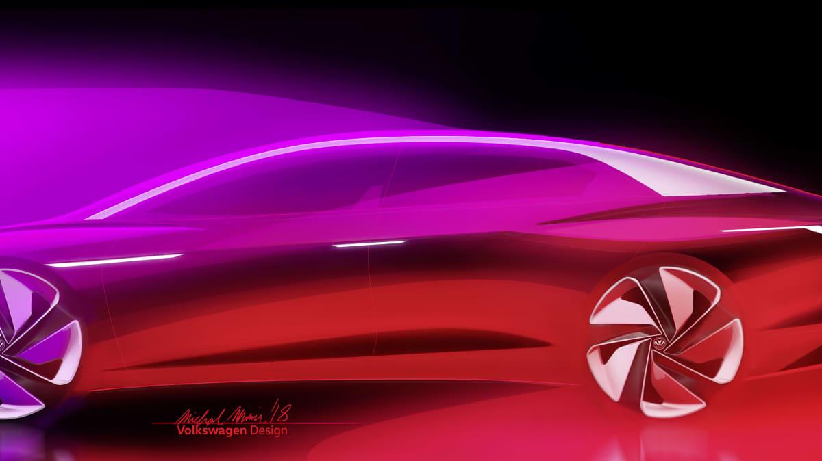Volkswagen I.D Vizzion Concept Teased