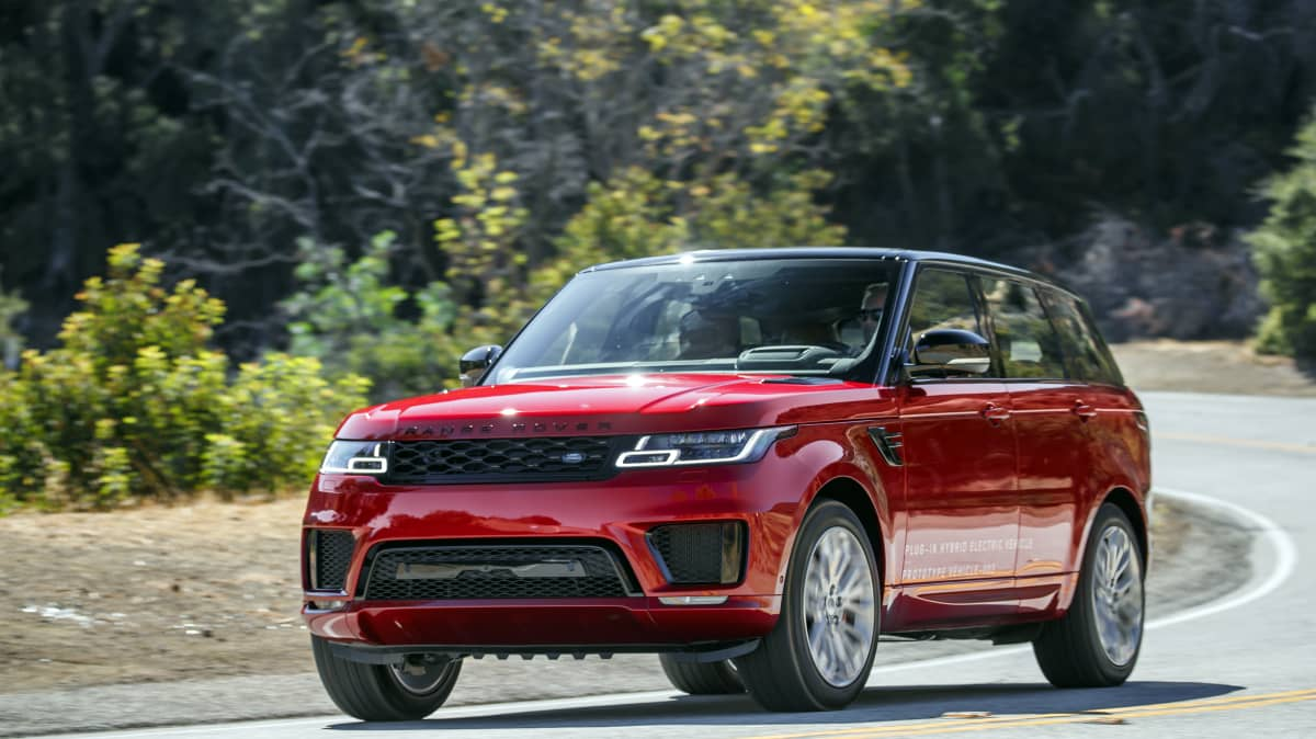 Range Rover Sport P400e First Drive Review