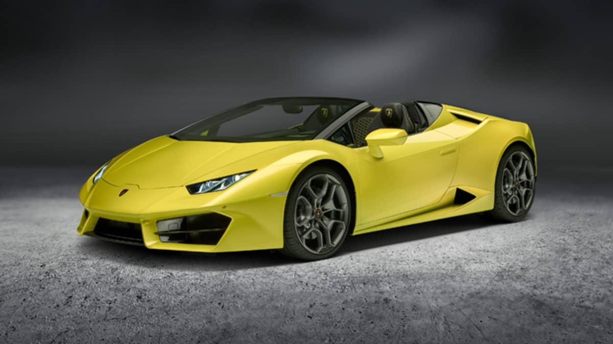 New Lamborghini Rear-Wheel Drive Huracan Drops Its Top