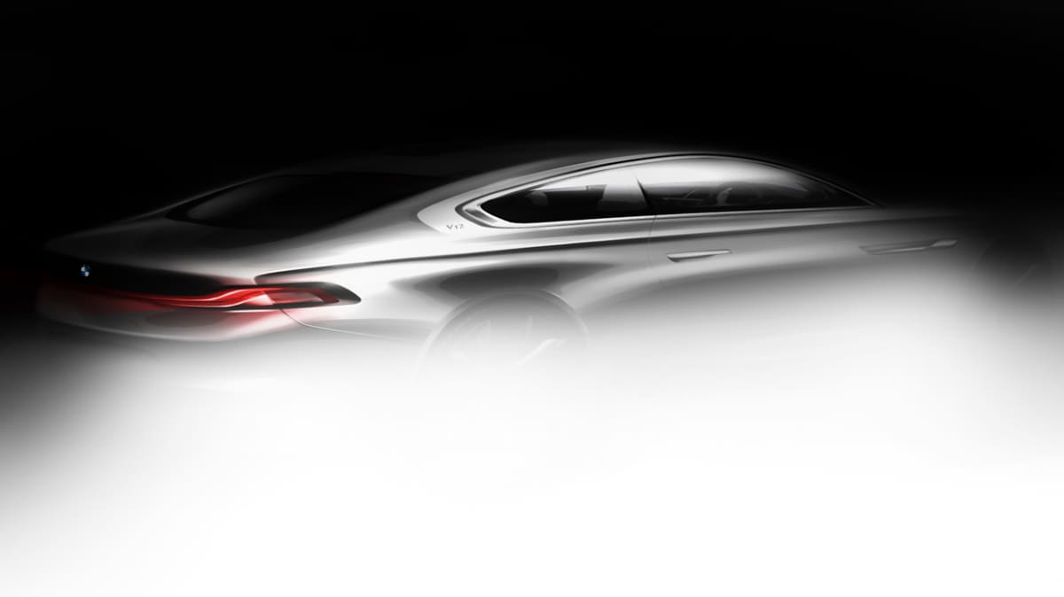 BMW Pininfarina Gran Lusso Coupe Concept Teased