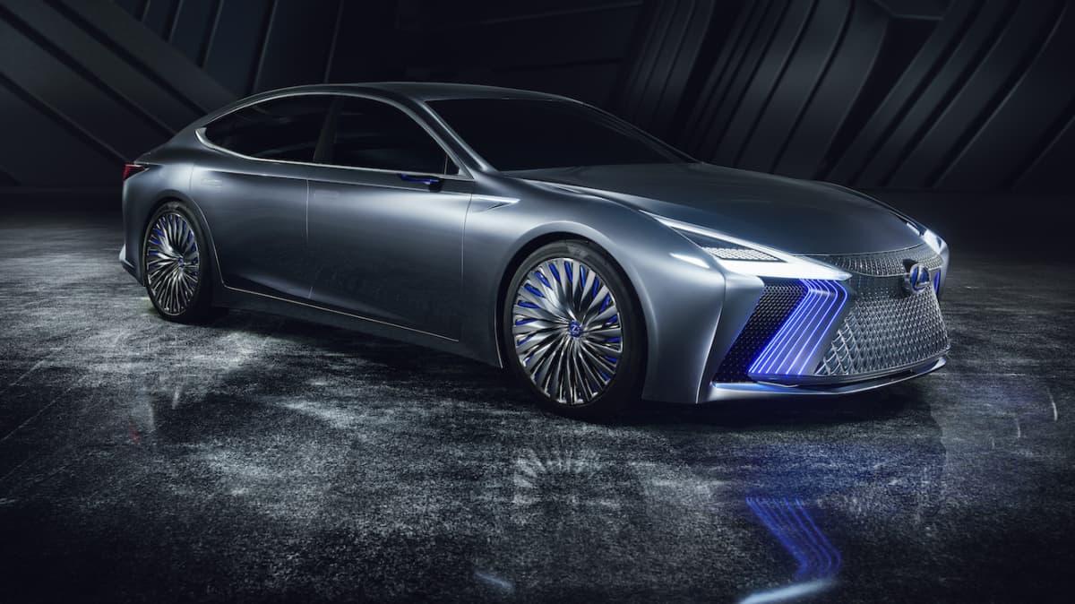 Lexus LS+ Concept Points To Near-Future Autonomous Abilities