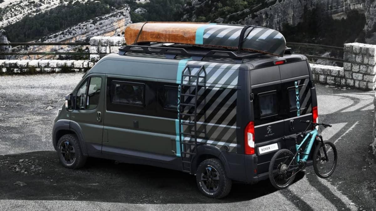 Peugeot Boxer 4x4 Concept revealed