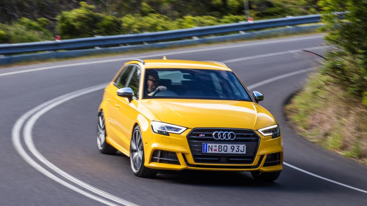 2018 Audi S3.