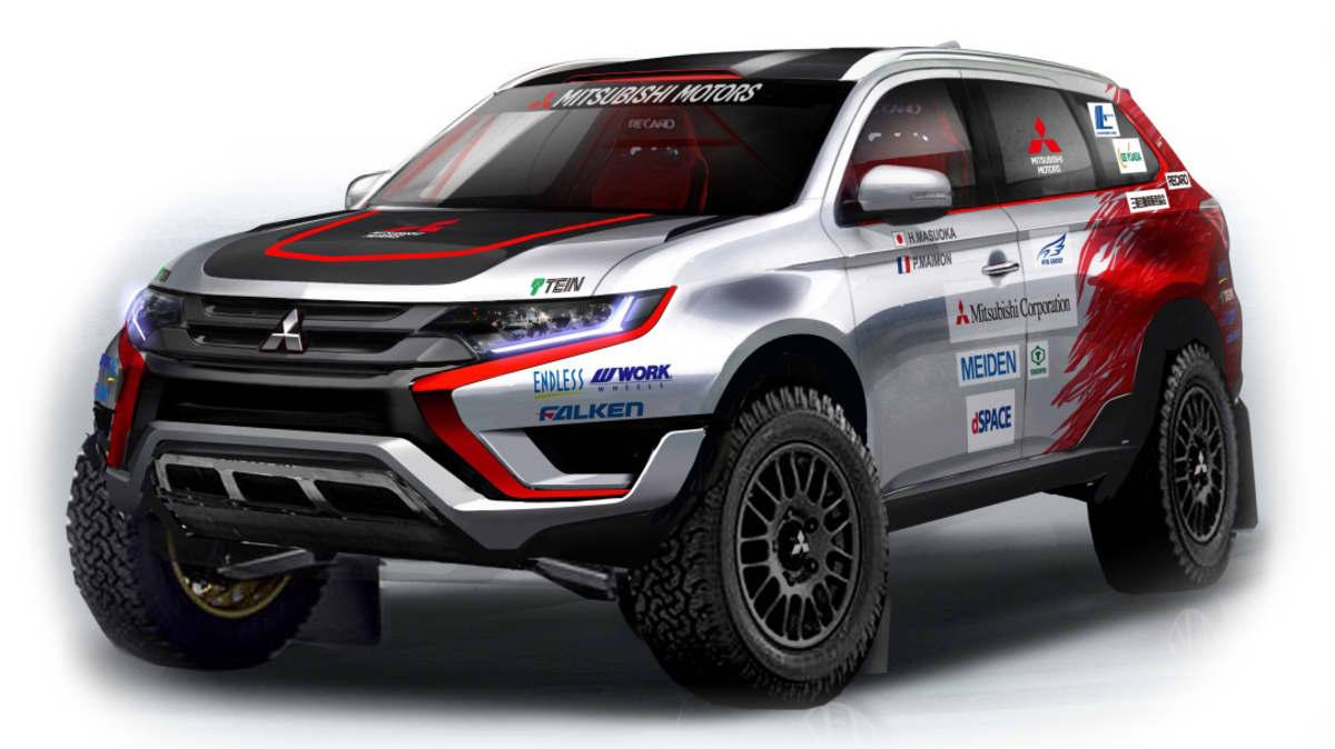 Mitsubishi Outlander PHEV To Compete At Baja Portalegre 500