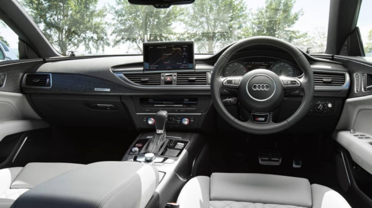 2015 Audi S7 Sportback.