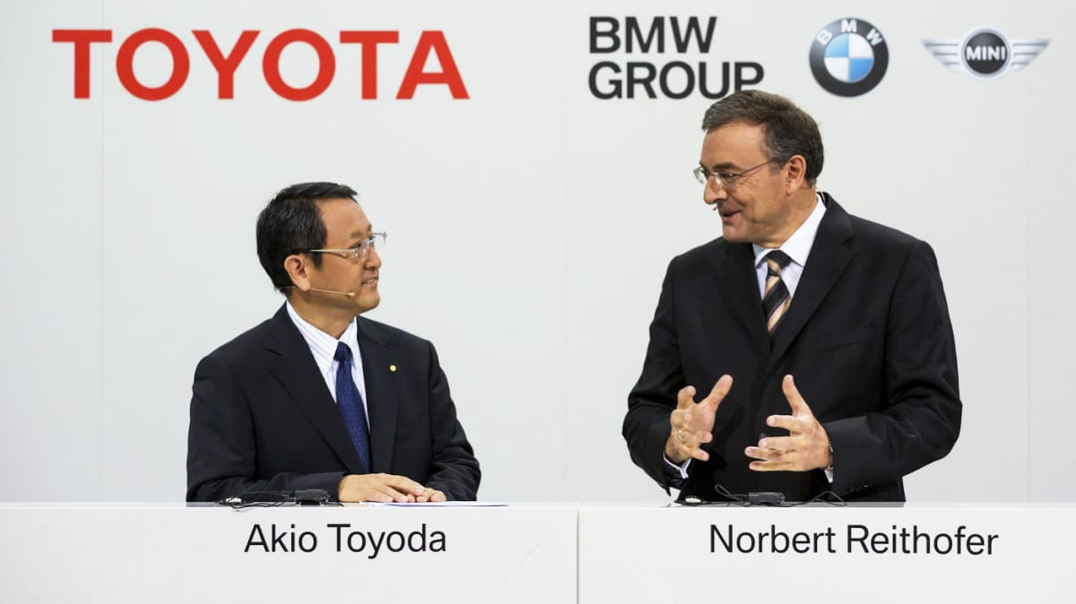 BMW, Toyota Announce Joint Sports Car Project